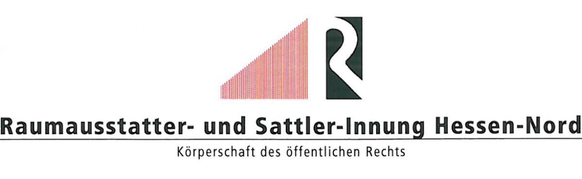 Raumausstatter ausbildung  Ausbildung - Raumausstatter- und Sattler-Innung Hessen-Nord